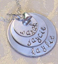 I want this with my girls names on it.