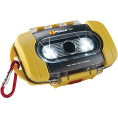 Pelican 9000 Yellow Light Case