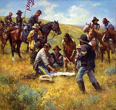 Howard Terpning. The Patrol, 1877. Masters of the American West 2016 | Autry National Center