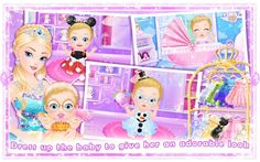 Princess New Baby's Day Care Libii Educational Android İos Free Game GAM...