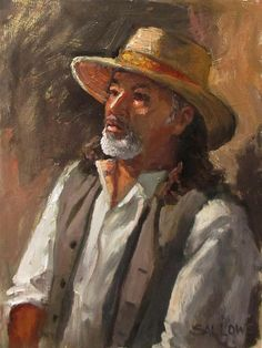 Vaquero by Nora Sallows Southwestern Art, Cool Art, Awesome Art, Mexican Art, Realism Art, Sale Poster, Pictures To Paint, Fine Art America, Artist