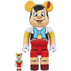 Pinocchio 100% + 400% Bearbrick Set (MAY2021) #pinocchio #disney #medicom #fatsuma #bearbrick400 #bearbrick #collectible #toy #designertoy #vinyltoy #arttoy #instagood #beautiful #love #art #fashion #new