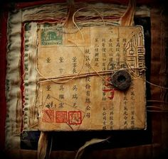 Asian / Oriental art journal diary sketchbook inspiration. Seth Apter