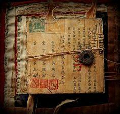 Asian / Oriental art journal diary sketchbook inspiration. Seth Apter