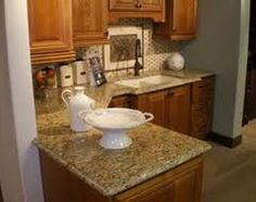 Best Granite for Oak Cabinets | What is the best color of granite to go with oak cabinets? - Houzz