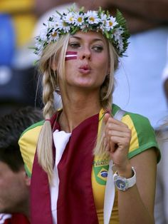 Beautiful Brazilian Women Football | This Is Most Sexy Soccer Fans