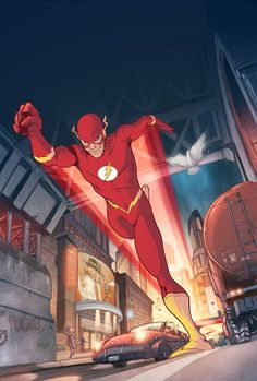 The Flash by Karl Kerschl
