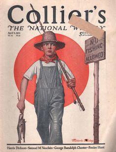 Collier's Magazine, April 2, 1921 by artist Fredrick Stanley.