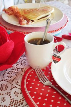 Valentine's Breakfast with Bigelow Tea from @Craft Moore #cbias #AmericasTea