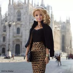 Barbie ~ Mattel's #barbiestyle series of photos