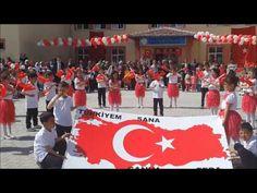 """HARİKA """"TÜRKİYE"""" ŞARKISI 23 NİSAN GÖSTERİSİ-İÇDAŞ İLKOKULU 3F-3H SINIFLARI - YouTube"""