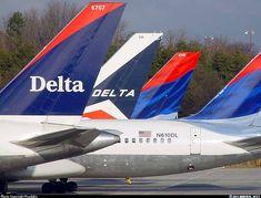 Delta Iar Lines Boeing 757-232 @ ATL