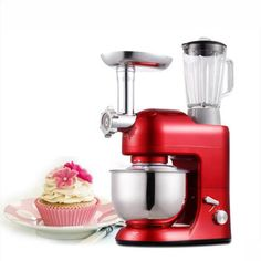5L Multifunctional chef machine Household Noodle maker Meat grinder Egg beater Butter machine SM-1086S