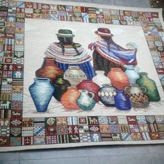 Carpet, Painting, Instagram, Ideas, Decor, Tapestry, Murals, Artworks, Hand Embroidery Art