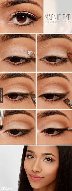 DIY: Augen optisch vergrößern