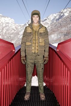 """White Mountaineering x Moncler """"Moncler W"""" Fall/Winter 2013 Lookbook"""