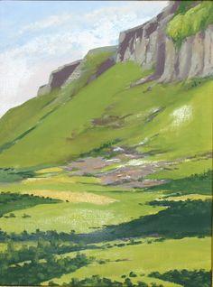 67b663e54 Paintings of Ireland | Irish Art - Paintings of Ireland Watercolor Drawing,  Watercolor Landscape,