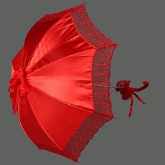 Lace / Terylene Wedding Umbrella – USD $ 17.59