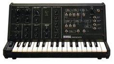 1978 korg ms-10 semi-modular synthesizer