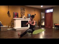 """▶ 30 min. """"Get Lit"""" Creative Vinyasa Yoga Flow for Core - YouTube Really like her teaching methods even if I can't always do the positions."""