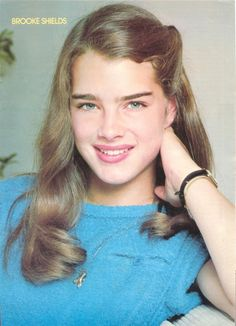 Brooke Shields discovered by Gem on We Heart It Brooke Shields Joven, Brooke Shields Young, Retro Hairstyles, Pretty Baby, Hollywood Celebrities, Hollywood Girls, Beautiful Actresses, Makeup Looks, Beautiful Women