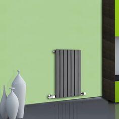 Design Heizkörper Horizontal Anthrazit 465 Watt 635mm x 420mm Sloane - Image 1