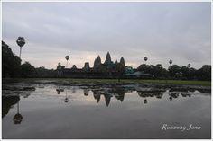 A day at Angkor Wat.