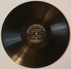 Oh Thou my Austria 78 RPM Columbia Phonograph Record # 41056 (#2246) by CherishedAgain on Etsy