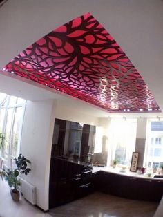 Youth butterfly bedrooms modern butterfly ceiling design for Decor zone false ceiling