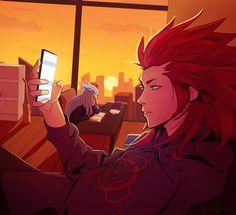 Kingdom Hearts Crossover, Axel Kingdom Hearts, Kingdom 3, Kingdom Hearts Fanart, Vanitas, Final Fantasy, Anime Guys, Fan Art, Pictures