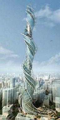 [Architecture] 인도 뭄베이 완다라 타워 wadala tower mumbai india Wadala Tower (Concept/Final??), Wadala, Mumbai - 1011m 만화에서나 볼수 있는 건축물이군요.