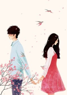 Pin by kimberly cabreros on wattpad covers Couple Manga, Anime Love Couple, Cute Anime Couples, Couple Art, Art Anime, Anime Art Girl, Manga Art, Couple Illustration, Illustration Art