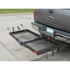 Ultra-Tow 2-in-1 Steel Cargo Carrier with 4-Bike Rack — 500-Lb. Capacity, Model# FTF-2762KR | Receiver Hitch Cargo Carriers| Northern Tool + Equipment