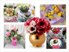 Creative Table Decor Ideas For Entertaining Plastic Plant Pots, Good Color Combinations, Ornate Mirror, Rustic Colors, Event Themes, Beads And Wire, Pillar Candles, Color Mixing, Floral Arrangements