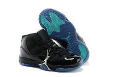 4d836923b183 Find Discount Nike Air Jordan 11 Kids Black Blue Cyan Shoes online or in  Footlocker. Shop Top Brands and the latest styles Discount Nike Air Jordan  11 Kids ...