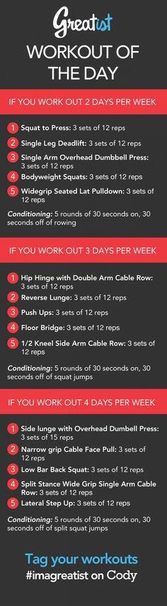 Greatist Workout of the Day: Monday August 26th