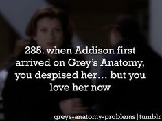Grey's Anatomy Problems .. correction... i didn't like her on Grey's ... but i loved her on Private Practice!