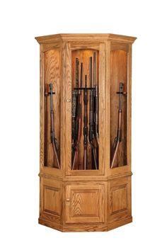 how to make a gun cabinet