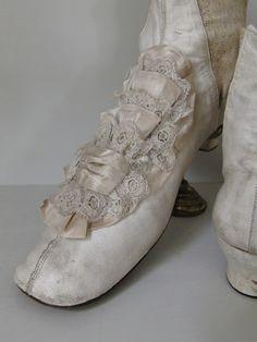 Wedding Boots, c 1860