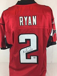 71c4cc5dd Matt Ryan signed Reebok Authentic jersey Fanatics coa Falcons autograph  auto in Sports Mem