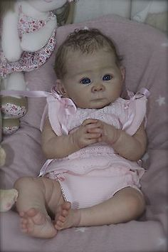 Cheza Baby Nursery Reborn Baby girl Lizzy Adrie Stoete in Dolls & Bears, Dolls, Clothing & Accessories, Artist & Handmade Dolls Reborn Baby Girl, Reborn Babypuppen, Newborn Baby Dolls, Reborn Dolls, Reborn Babies, Lifelike Dolls, Realistic Dolls, Beautiful Babies, Beautiful Dolls