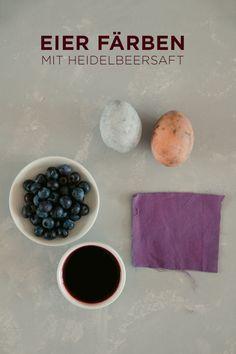 OSTER DIY – EIER FÄRBEN MIT NATURMATERIALIEN Pudding, Desserts, Diy, School, Food, Ideas, Purple Cabbage, Natural Colors, Natural Materials
