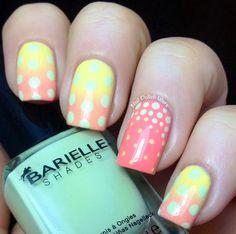 Something Sunny via @nailpolishwars #pastels #neon #yellow #barielle - bellashoot.com