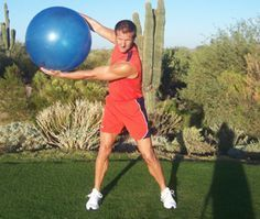 Here's a simple golf swing exercise to stretch out your backswing muscles and give you more width in your swing, resulting in higher clubhead speeds and distance.