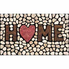 Found it at Wayfair - Masterpiece Home Stones Doormat
