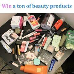 Win a ton of beauty products ^_^ http://www.pintalabios.info/en/fashion-giveaways/view/en/3665 #International #MakeUp #bbloggers #Giweaway
