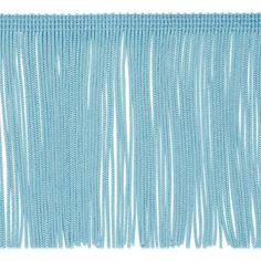 "5 metres Muted grey blue cream fringe braid trim trimming 1/"" wide Crafts cushion"