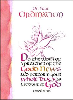 1000+ images about Ordination Cards on Pinterest ...