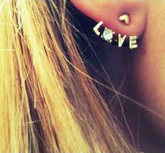 Dangling Love Earrings on SALE