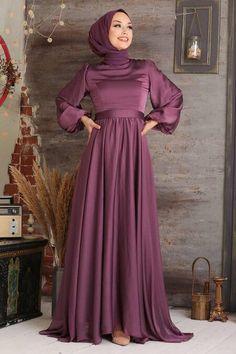 Purple Evening Dress, Hijab Evening Dress, Hijab Dress Party, Muslim Evening Dresses, Islamic Fashion, Muslim Fashion, Hijab Fashion, Fashion Dresses, Muslim Dress